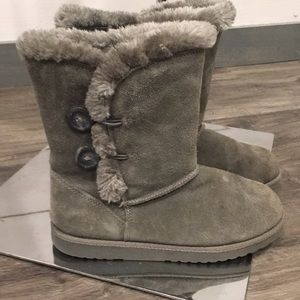 Ugg inspired Boots in grey